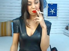 Smoking girl X