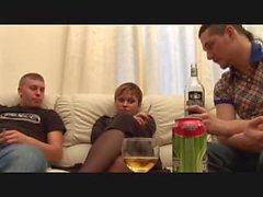 ubriachi e fumare