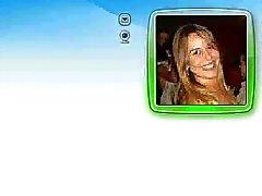 Michelle Loira Gata na CAM do MSN