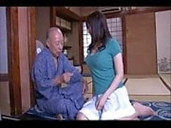 japanes old mans fight to fuck girl