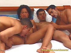 naughty bisex orgy