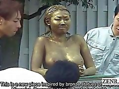 Subtituladas opinión pública japonesa prank de parque estatua del sexo covert