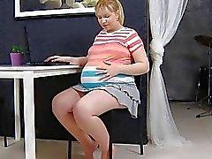 Schwangeren Jenny 05. aus MyPreggo (dot) com