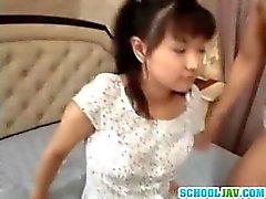 Så CÙte asiat teen för flicka