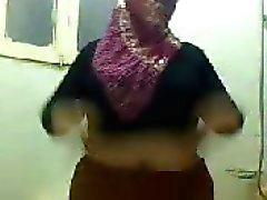 Bbw gordura árabe na webcam