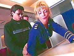 De Shayla LaVeaux - Air Plane Gangbang