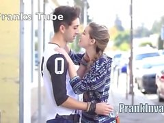 Best Kissing Prank Compilation 2016 - PRANKINVASION