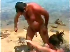 Cuckold beach wife