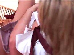 Jenny Hendrix is one naughty schoolgirl
