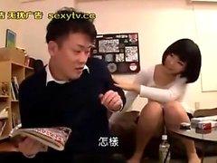 Asian Teen amateur Arisa Nakano dans pov branlette