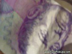 Teen euros verdadera mostrar coño en efectivo