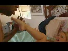 Blonde Tries A Big Dicked Black Man