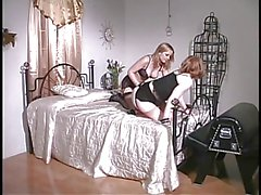 3 smoking hot chicks in spanking action