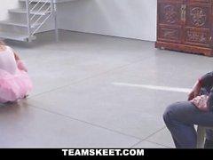 TeamSkeet Tiny Ballerina Fucks Her Instructor!