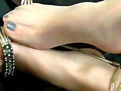 Sheer Nylon Feet