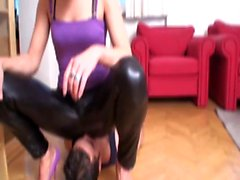 Turkish Mistress dominate slaves