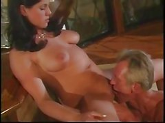 busty brunette gets ass fucked