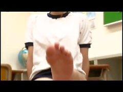 Hinata Tachibana - Fetiche do pé japonês