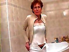Mooie Nips en Lovely Labia Mature scheert