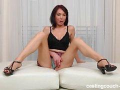 CastingCouch HD Gabby oldukça beyaz kız