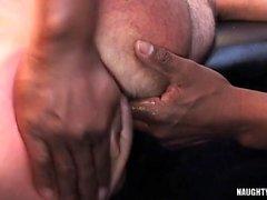 Grande cazzo sesso anale gay e sborrata