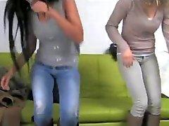 fakeagent two girls make me cum quiick