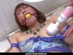 Strong foda bondage japonês para apertado Kana Mimura