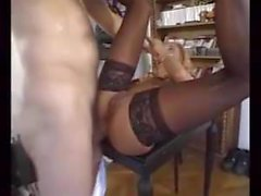 J-Y. Lecastel - Anal sex with mature Anett
