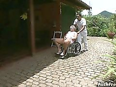 Viejo y loco mujerzuela granny brasileña!