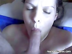 Anal fucking my busty blonde milf on the couch