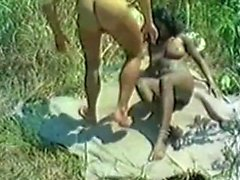 Interracial Outdoor Fucking fantasiat Ebony Hoes