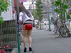 Japanese Pantyhose Public Exhibitionism Upskirt
