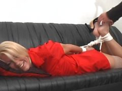 MILF hogtied ja Tickled