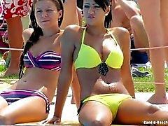 Plage Teens Bikini Voyeur HD