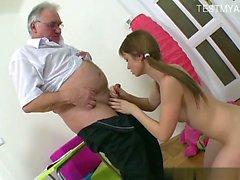 Hot pornstar riding cock
