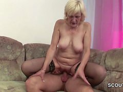 Step-Son Seduce Milf Mother To Fuck her When Dad Away