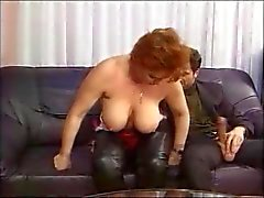redhead german mature kira fucked by huge cock