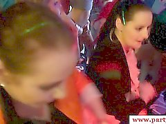 Sexy real euro party with amateurs sucking