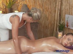 Massage Rooms Petit lesbians finger fuck hard