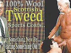 Di età superiore Uomo In Suit ... di Jean villroy viene pompino ... Indossare Tweed