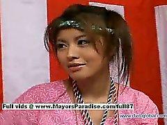 Yuzuru Giappone innocenza bellezza cinese parlano del sesso