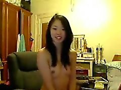 Sweet Asian Girl And Her Dildo