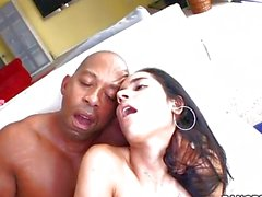 Tia Cyrus Is Dicked by huge monster cock