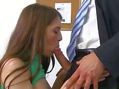 depraved chick fucks with teacher