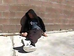 Hemlösa drucken grabben Fucks Aubreys Addams