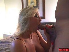 Hot mature sex and cum in mouth
