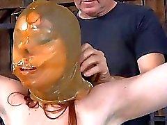 Hot slave delights with oral sex