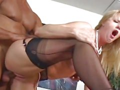 Horny Bethany Sweet gets her moist pussy pulverized