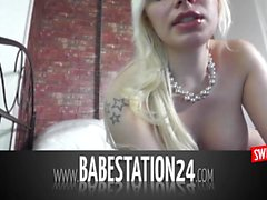 Cute German Amateur in Hardcore-Liveshow at Babestation24