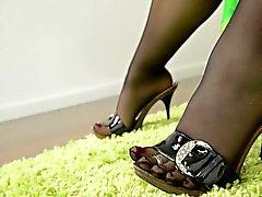 pantyhose Branlette avec pieds